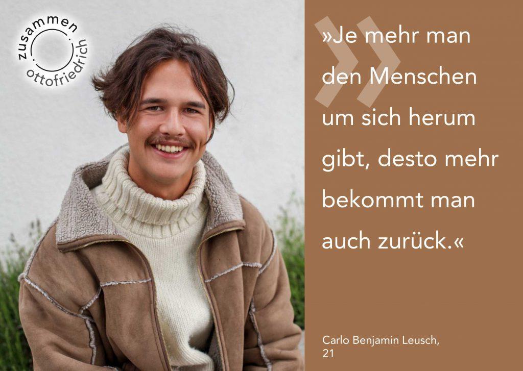 Carlo Benjamin Leusch - zusammen: ottofriedrich