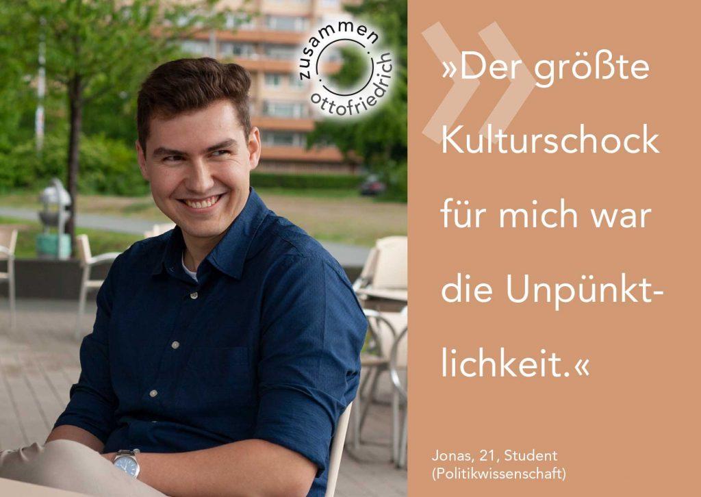 Jonas, 21, Student - zusammen: ottofriedrich