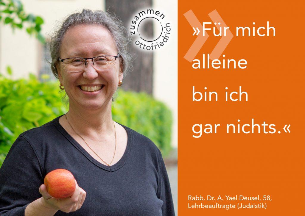 Rabb. Yael Deusel - zusammen: ottofriedrich