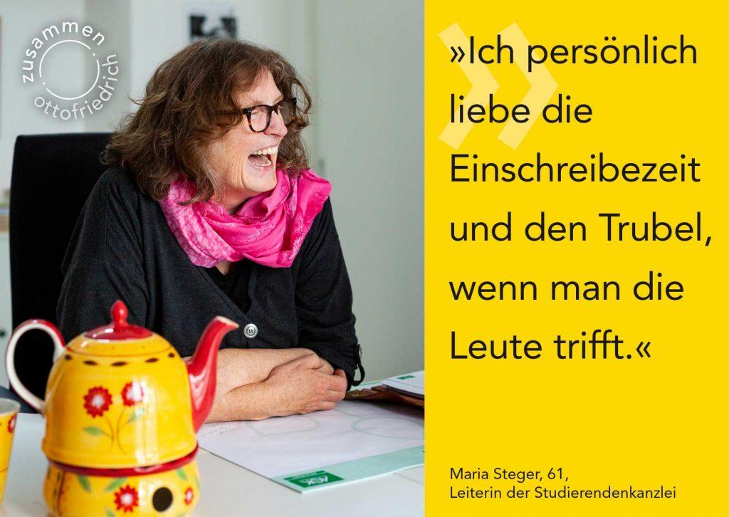 Maria Steger - zusammen: ottofriedrich
