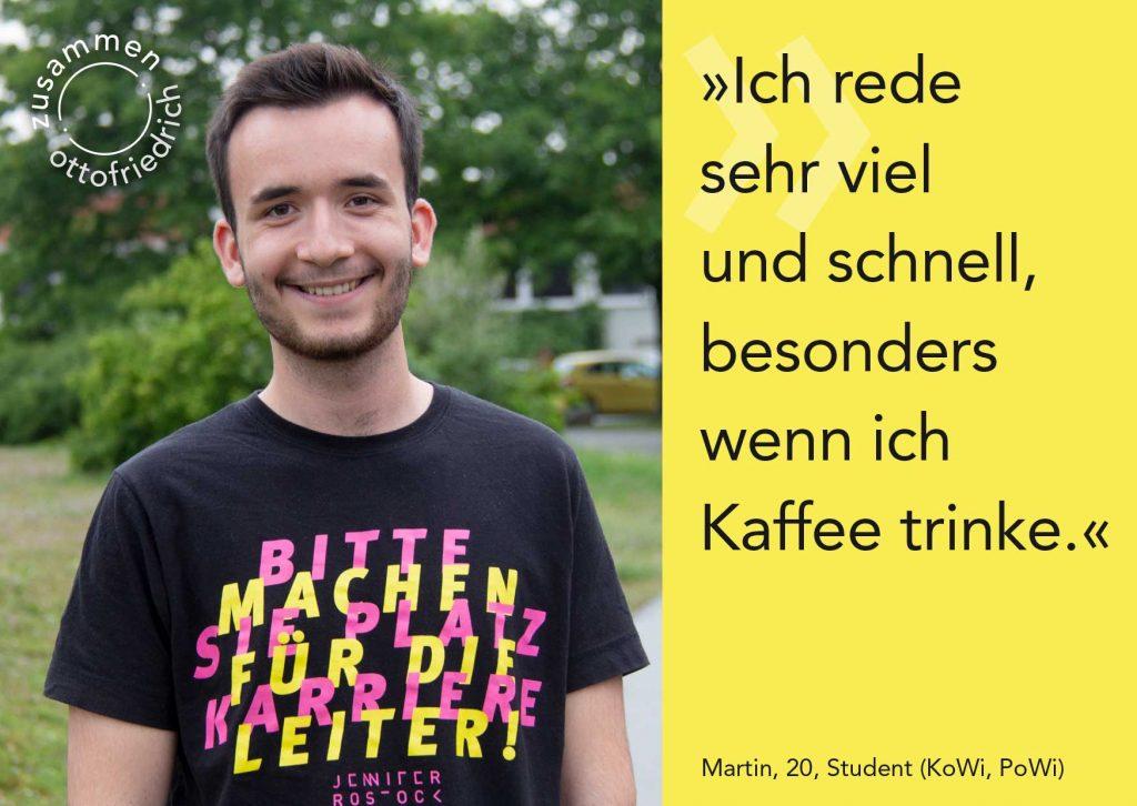 Martin, 20 - zusammen: ottofriedrich