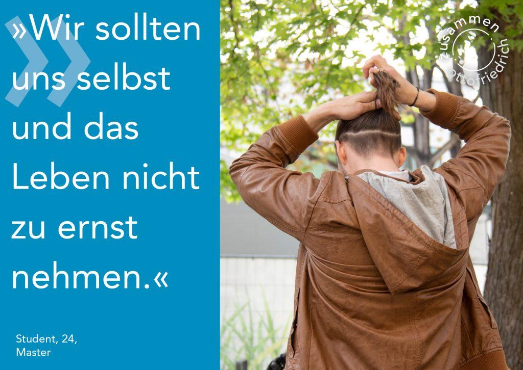 Student, 24, Master - zusammen: ottofriedrich
