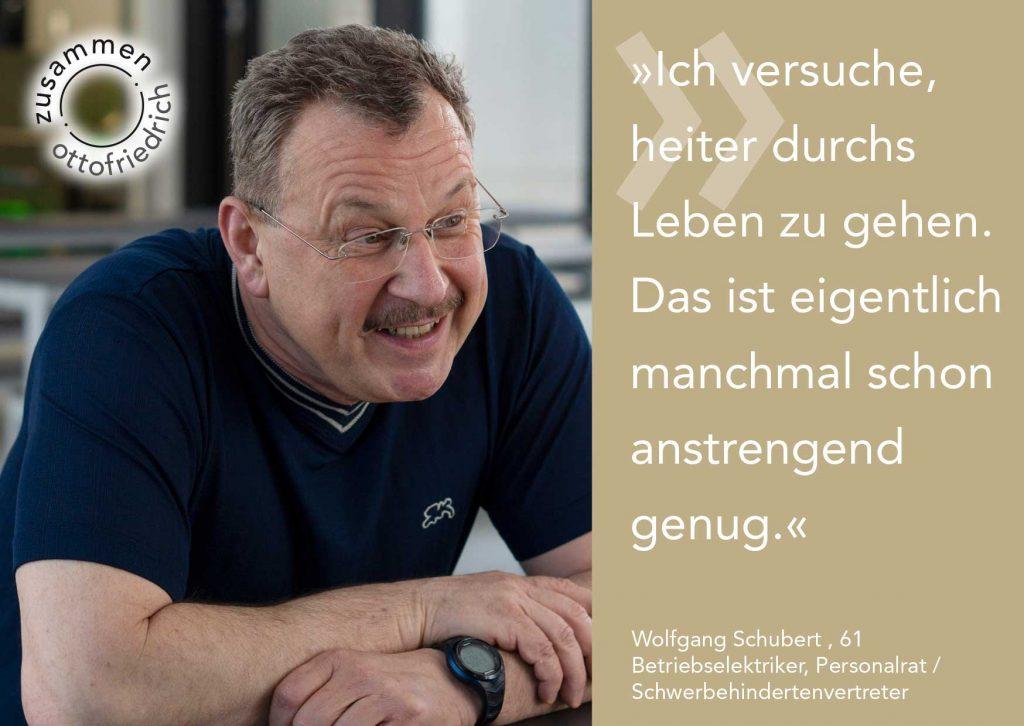 Wolfgang Schubert - zusammen: ottofriedrich