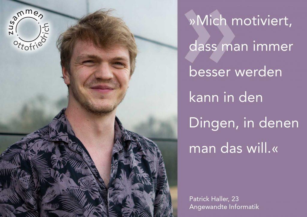 Patrick Haller - zusammen: ottofriedrich